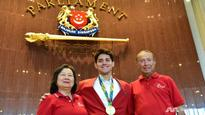 'I had goosebumps': Joseph Schooling on being honoured in Parliament