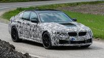 Next-gen BMW 5 Series range spied