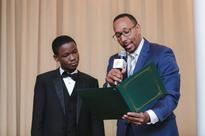 Abraham Attah earns Key to the City, Massachusetts