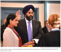 Indo-American Singh Sworn In As Top Attorney In Bergen County