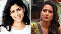 Bigg Boss 11: Sakshi Tanwar hasn't reacted to Hina Khan calling her cross-eyed, it's a fake interview!