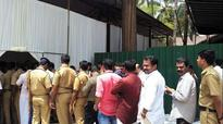 Chhattisgarh CM Raman Singh arrived with weapons in Kozhikode
