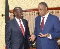 Football: CHAN PREPARATION ON TRACK- Ruto: Deputy President assures Hayatou Kenya will be ready to host the championship