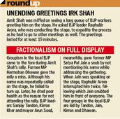 Amit Shah rolls up sleeves for Chandigarh municipal corporation poll