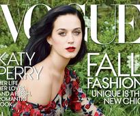Katy Perry graces Vogue cover for the first time