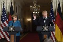 Trump-Merkel air differences in frosty first meeting