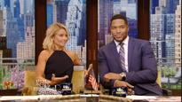 Kelly Ripa makes eyebrow-raising joke during third day back on 'Live!'