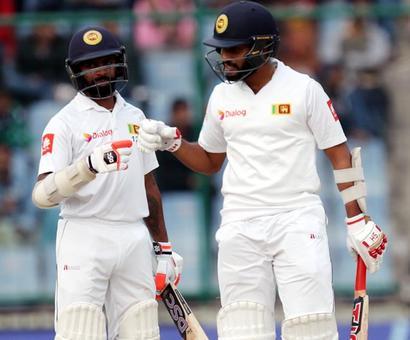 PHOTOS: De Silva ton helps Sri Lanka force draw, India win series