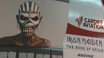 Iron Maiden's Bruce Dickinson in aviation rights row
