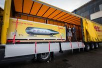 Delft Hyperloop travels at hyperspeed with DHL Express