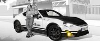 Otaku Alert: Toyota GT86 Initial D Concept Is Definitely Sugoi