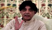 PTI wants Nisar to replace Sharif as PM, claims Pak opposition leader