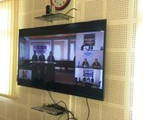 Judiciary Milestone of Sikkim : A first realtime video conferencing between SLSA and DLSAs through NICNET