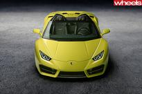 2016 LA Motor Show: Lamborghini Huracan LP580-2 Spyder revealed Read more