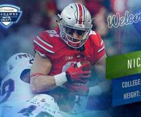 Seahawks Select Ohio State Tight End Nick Vannett With No. 94 Overall Pick