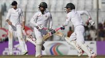 Bangladesh vs England: Bangladesh end day on 253/8, need 33 runs for victory