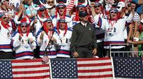 Bubba Watson breaks down as US lift Ryder Cup
