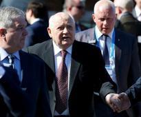 Gorbachev barred from visiting Ukraine for Crimea remarks