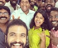 Oozham team has a pack up selfie