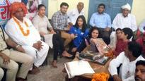 Shameful: CWG golden girl Manu Bhaker made to sit on floor during felicitation in Haryana