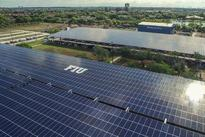 The commercial-scale solar installation is at FIU's College of Engineering and Computing.