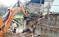 Eviction drive under way in North Lakhimpur