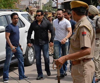 The conviction of Salman Khan