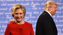 Clinton pulls away from Trump in first post-debate poll