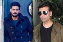 Abhishek Bachchan's secret meeting with Karan Johar