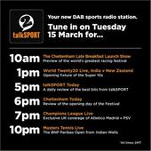talkSPORT 2 launches with Cheltenham Festival and cricket coverage