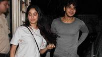 SPOTTED: Sridevi's daughter Janvi Kapoor and Ishaan Khatter at 'Baby Driver' screening!
