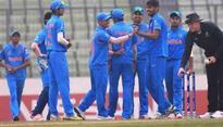 India U-19 team beat England U-19 by 334 runs