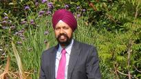 British Sikh Tanmanjeet Singh Dhesi hopes to become first turban-wearing MP
