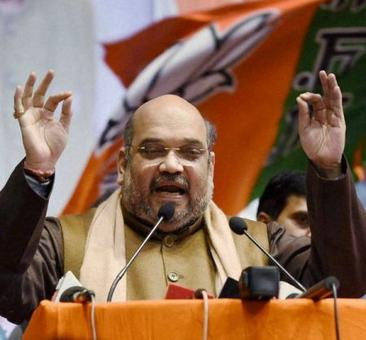 No question of alliance with BSP, says Amit Shah at UP rally