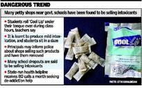 Intoxicants sold near govt. schools