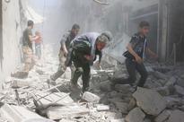 Syria: At least 20 air strikes hit rebel-held areas of Aleppo