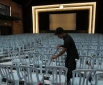 Movies play again in refurbished Majestic Theatre