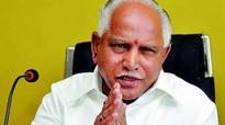 Law and order situation deteriorating: BS Yeddyurappa