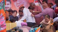 Stage collapses as Varun Gandhi addresses farmers on birthday
