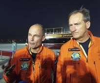 Solar Impulse 2 plane circles globe for first time and returns to UAE