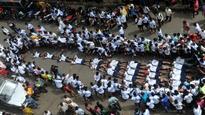 Mumbai: Govindas lie low, literally, to protest against Supreme Court order