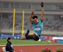 China long jump hope Li wins again