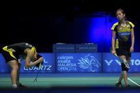 Mixed doubles pair falter at Australian Open semis