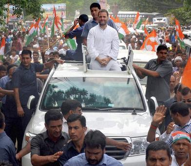 Rahul to launch 'Save the Constitution' drive tomorrow