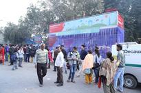 VODAFONE LAUNCHES AIR PURIFYING BUS SHELTER AT SAFDARJUNG #besuper