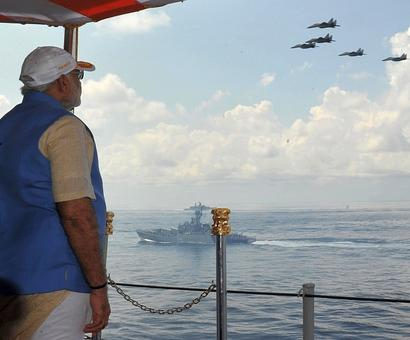 PM aims for desi boost for India's military build-up
