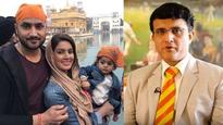 Sourav Ganguly confused Harbhajan Singh's daughter for a boy and later gave the most goofy excuse!