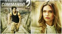 Commando 2 poster: Vidyut Jammwal fights against black money, Esha Gupta looks fierce. Watch video, pics