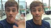 Tom Daley records special message to fans on behalf of Team GB