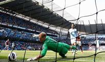 Manchester City 2 - West Ham 1: City go through the motions